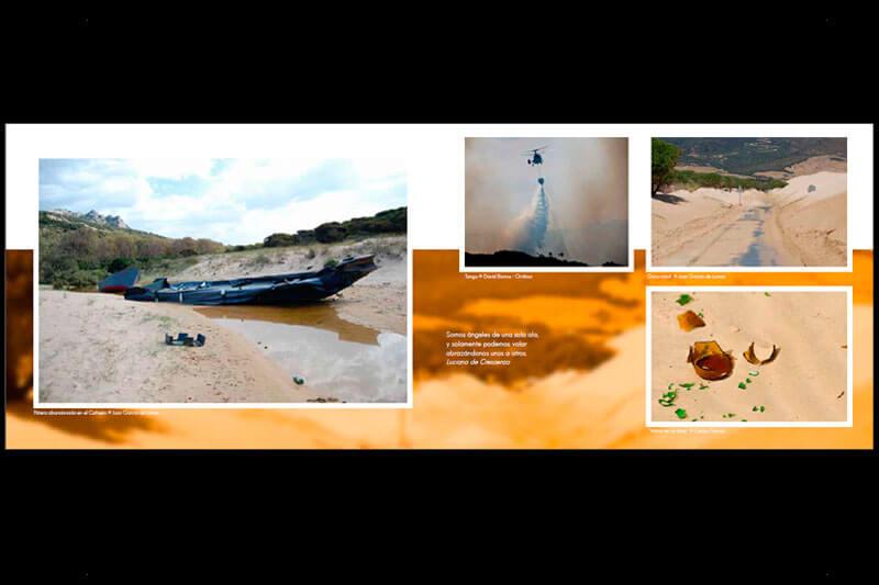 DISEÑO WEB EN SEVILLA: Libro Fotografía Frontera de Dos mundos 3
