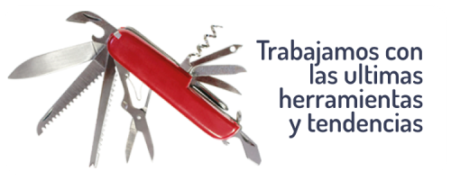 DISEÑO WEB EN SEVILLA: TRABAJAMOS CON LAS ULTIMAS HERRAMIENTAS