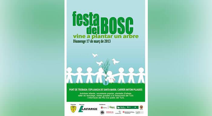 "Cartel ""Festa del Bosc"""