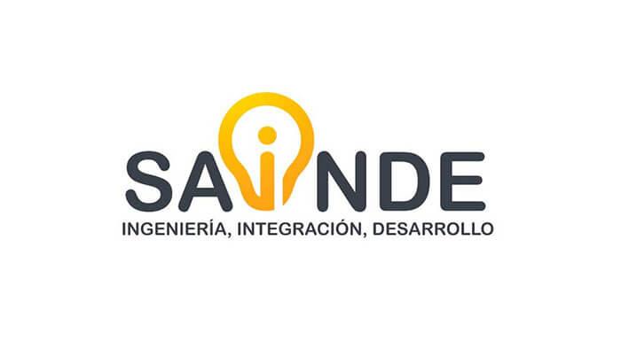 Logo para SAINDE, Ingenieria, integración y desarrollo.