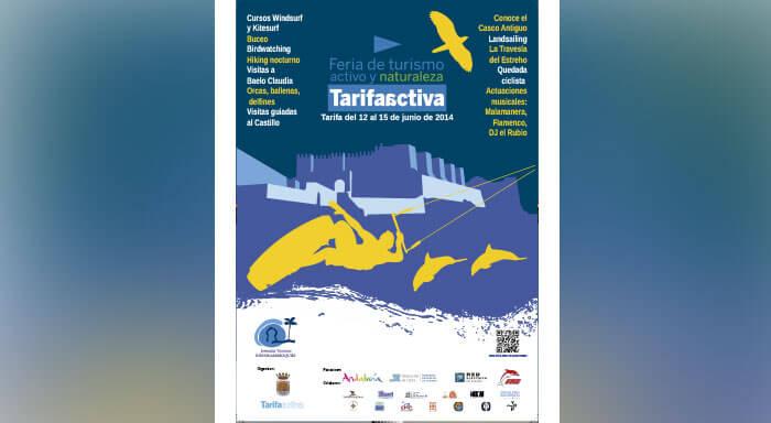 Cartel para la FERIA DE TURISMO ACTIVO Y NATURALEZA DE TARIFA