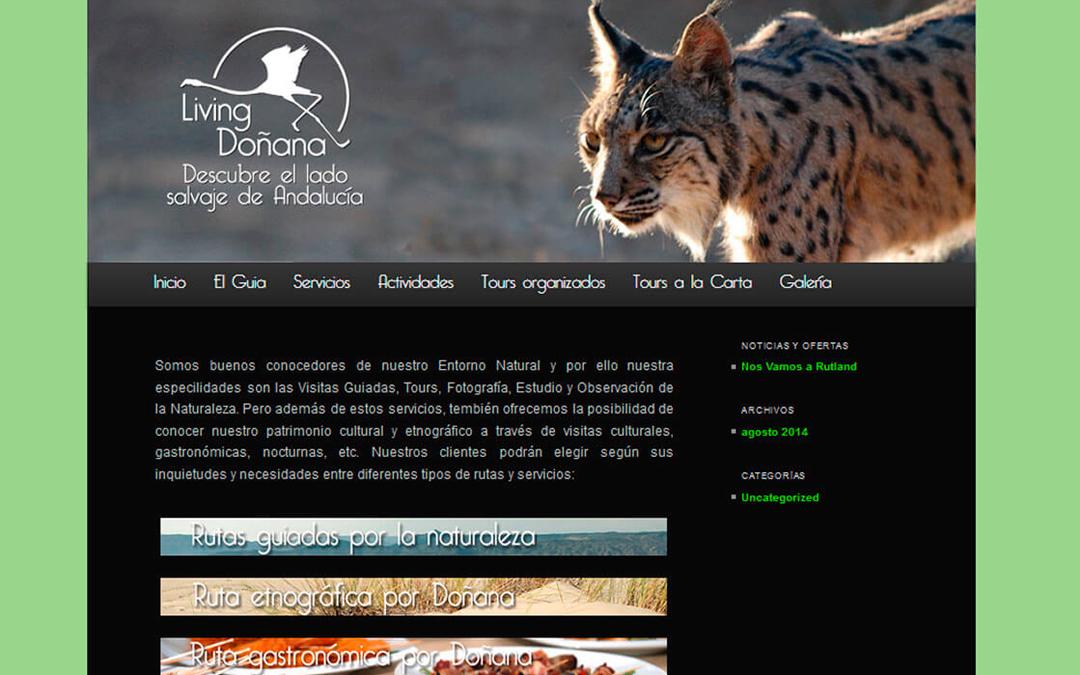 PÁGINA WEB LIVING DOÑANA