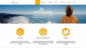 Nuevo diseño web Mediacuerdo
