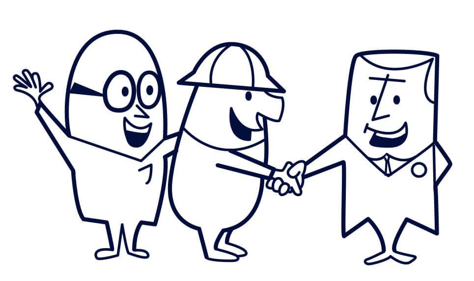 Diseño gráfico para publicidad mediacion empresarial Mediacuerdo 4
