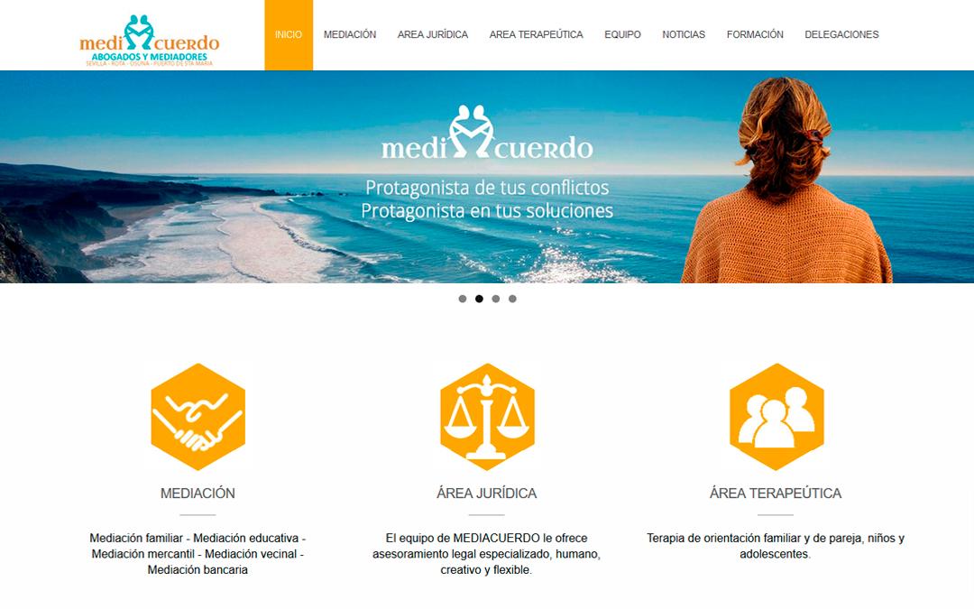 REDISEÑO DE LA WEB DE MEDIACUERDO